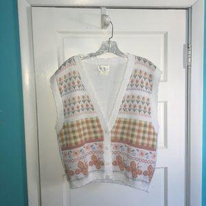 Jackets & Blazers - Cricket lane petites size large vest.